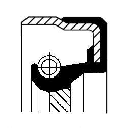 CORTECO Vārpstas blīvgredzens, Mehāniskā pārnesumkārba
