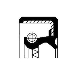 CORTECO Vārpstas blīvgredzens, Kloķvārpsta